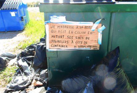 Pointe de Chambord : Un véritable dépotoir qui dérange