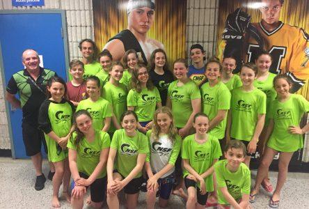 Bons résultats pour les clubs de natation de Roberval et de Saint-Félicien