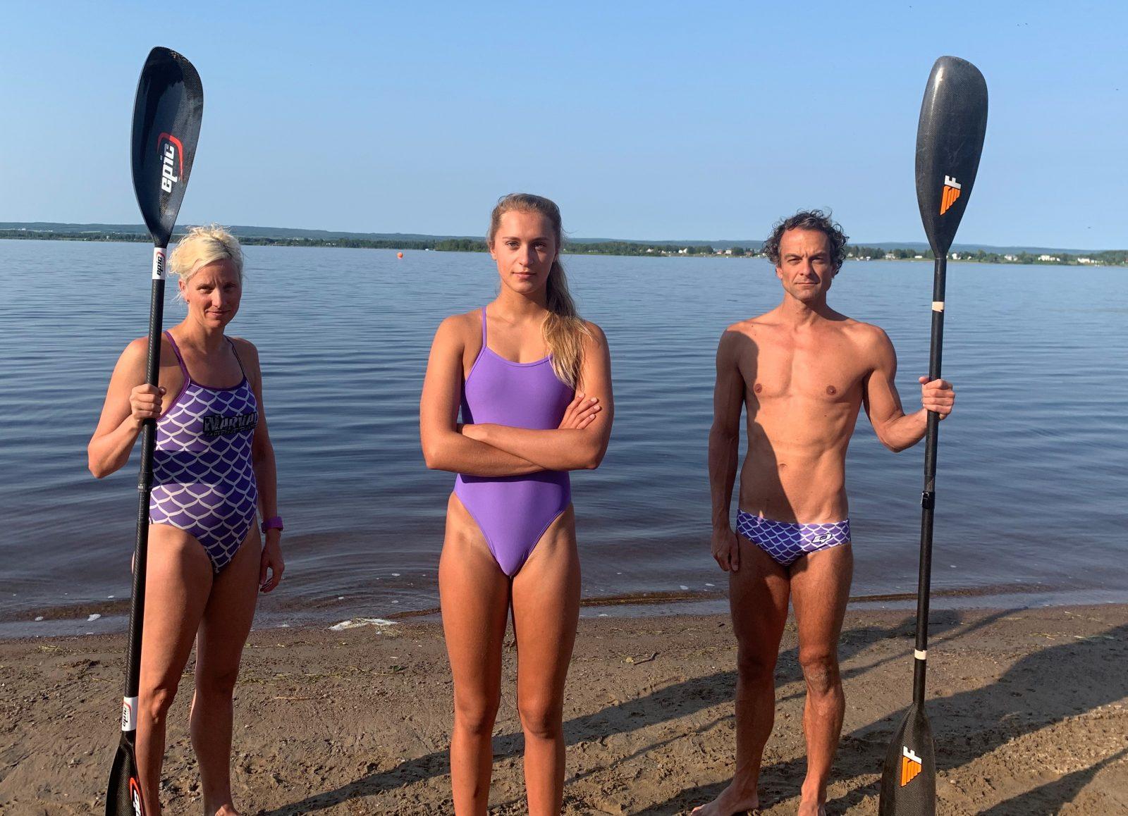 Direction Nouvelle-Écosse pour trois athlètes du Narval