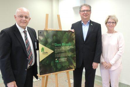 Hôpital de Roberval : la Salle produit forestiers Résolu pour la radiologie