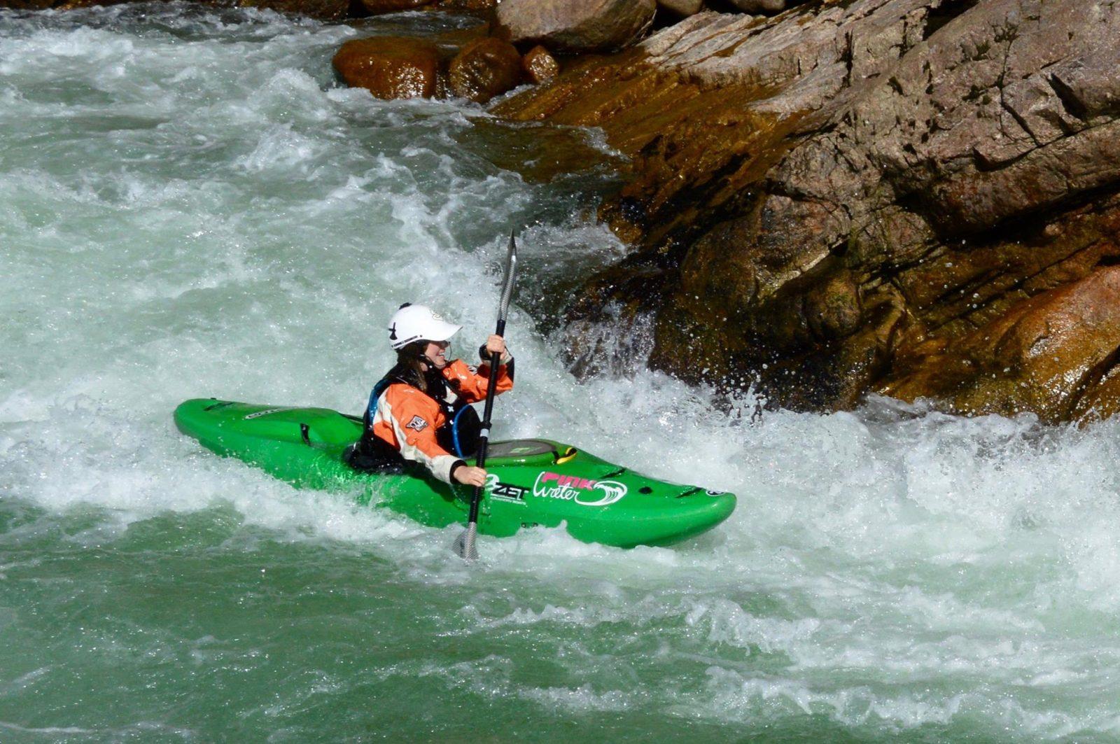 Kayak en eau vive: le paradis, c'est ici!