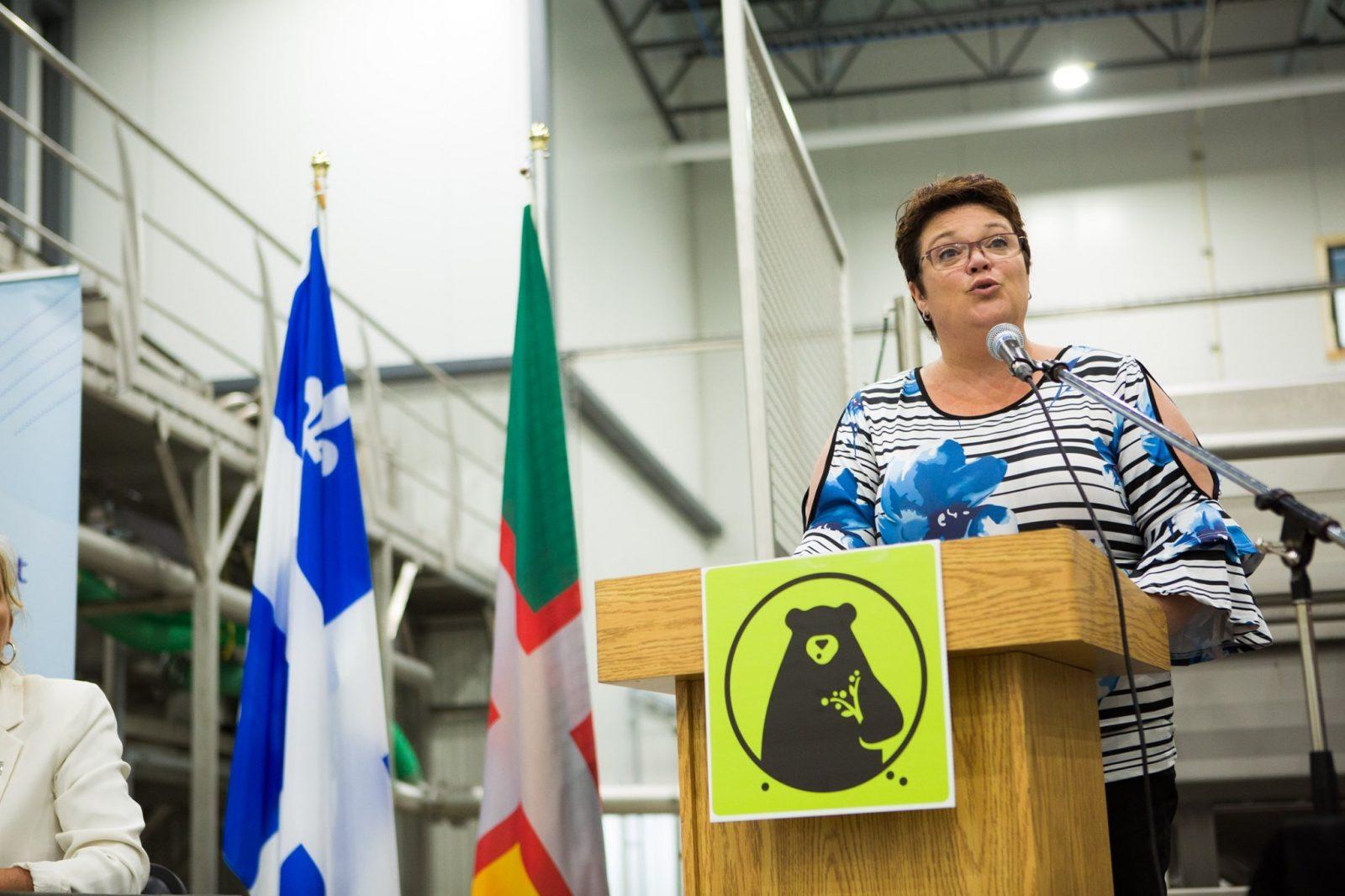 Nancy Guillemette: Priorités: industrie forestière et Véloroute