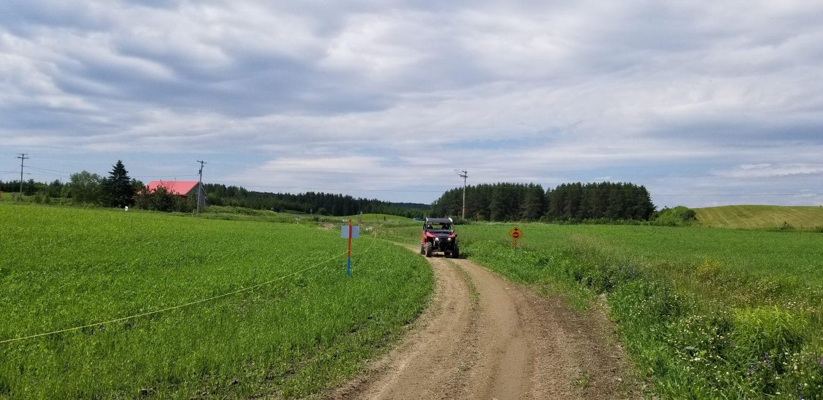 Des débuts prometteurs pour le sentier de quad à Saint-Félicien :Il ne manque que l'accès au centre-ville