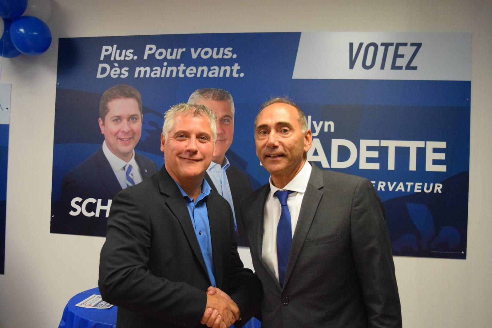 Élections : Le conservateur Jocelyn Fradette ouvre son bureau à Alma