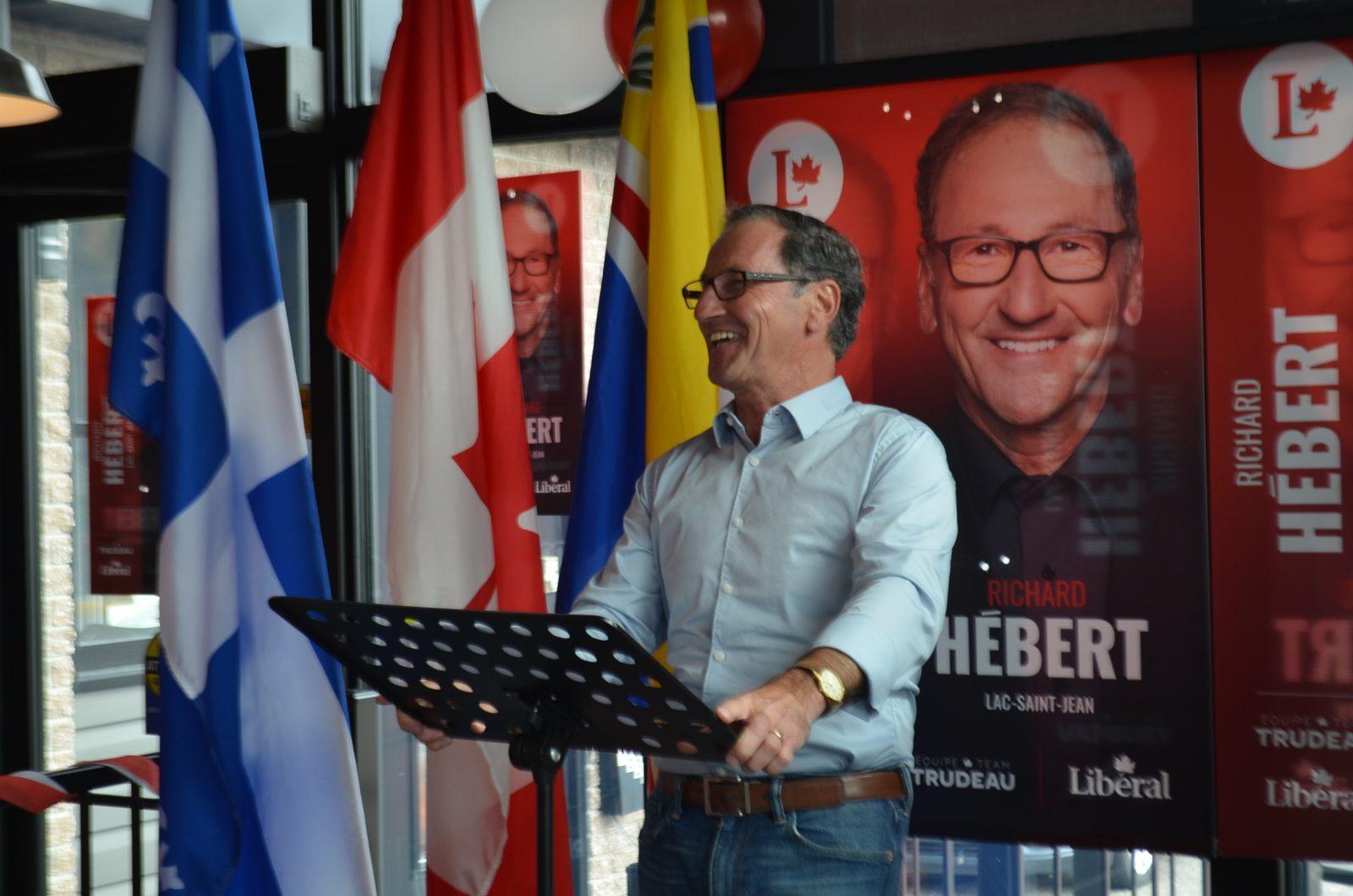 Hébert ouvre son local électoral et amorce la campagne