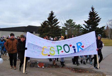 Saint-Félicien marche par solidarité