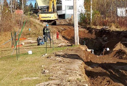 Lac-Bouchette : des travaux importants en cours