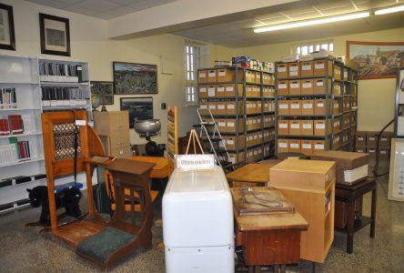 Des nouveaux locaux plus spacieux pour la Société d'histoire