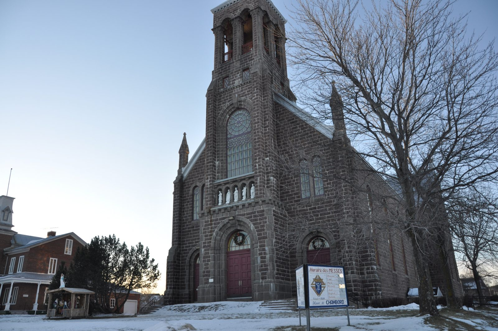 Avenir de l'église: Chambord cherche des idées