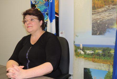La députée de la CAQ présente sa vision du développement