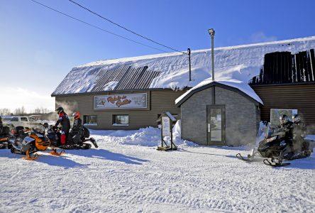 Enfin un sentier permanent dans le rang de la Rivière-aux-Saumons