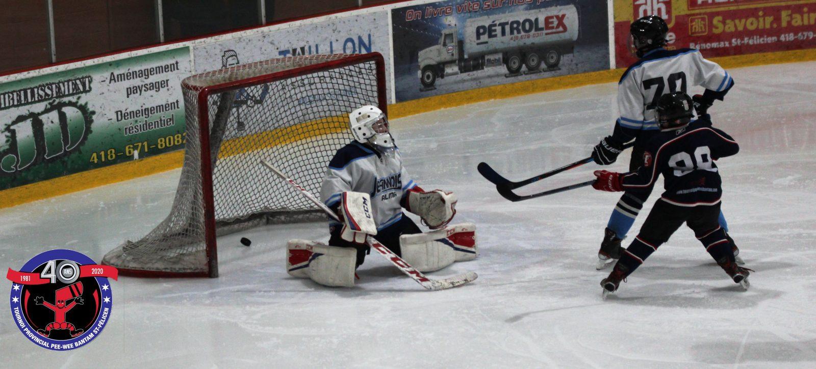 3e journée du tournoi provincial pee-wee bantam de Saint-Félicien