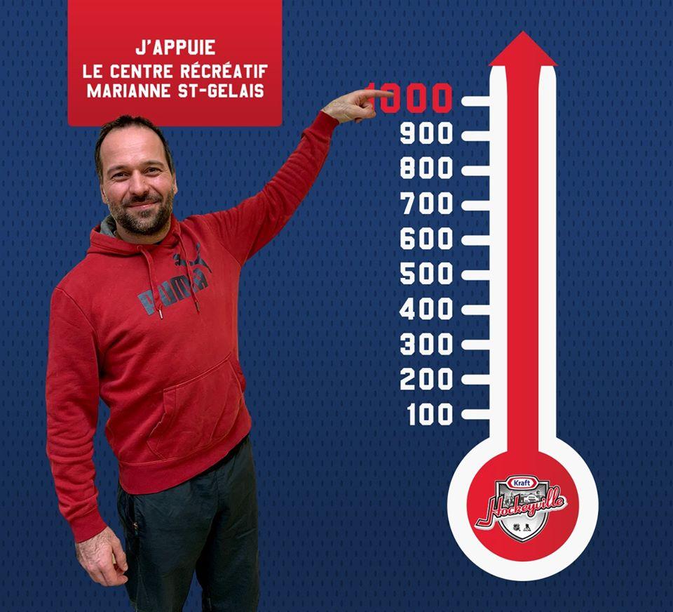 Hockeyville : Saint-Félicien dépasse les 1 000 bulletins