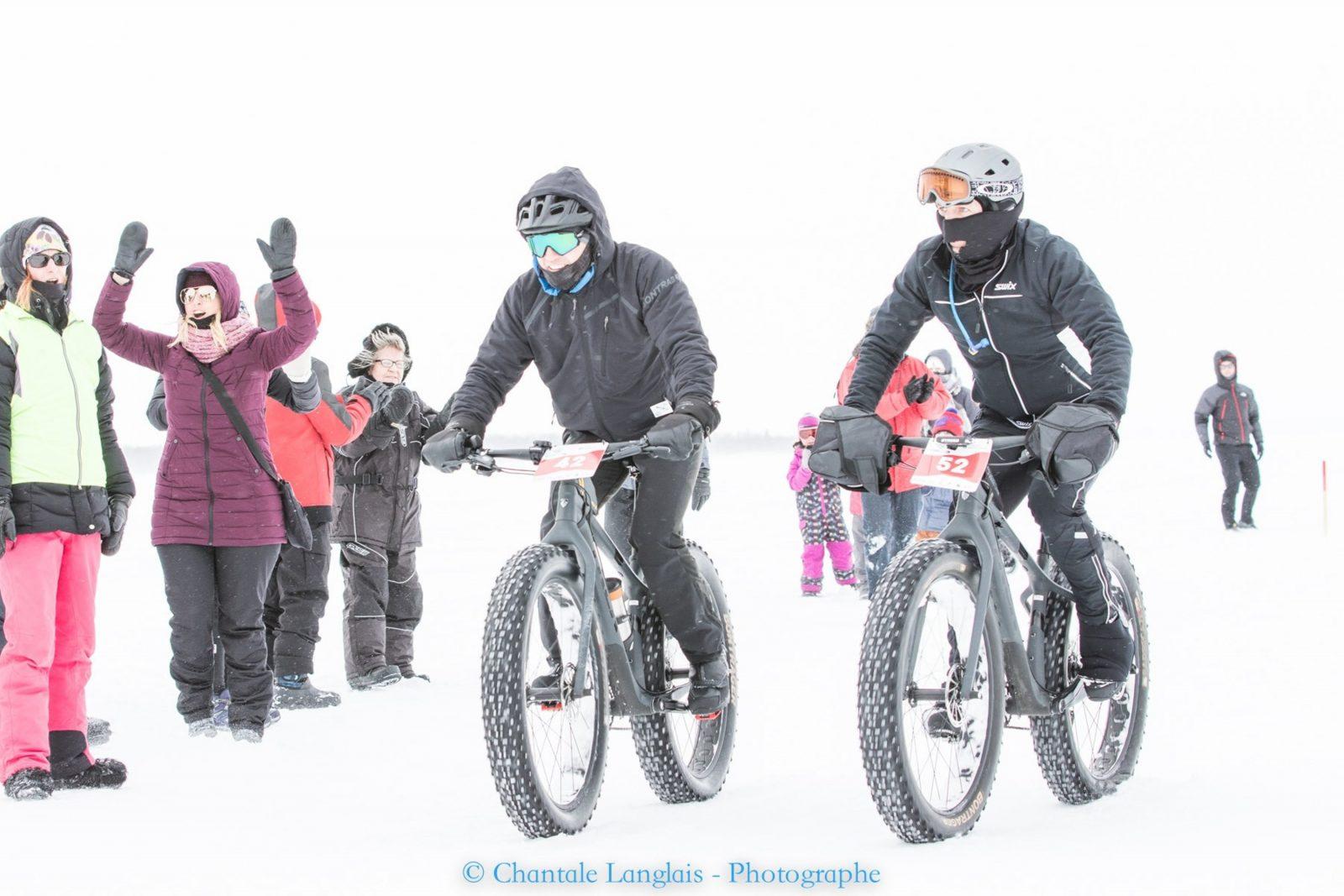 7e édition de laTraversée du lac Saint-Jean à vélo