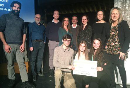 Le Cégep dévoile ses lauréats au Concours en entrepreneuriat et développement durable