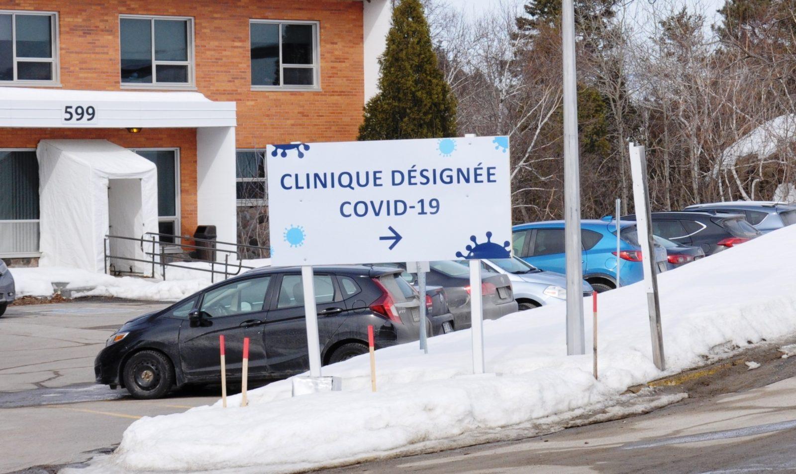 Un seul nouveau cas de COVID-19 en fin de semaine dans la région