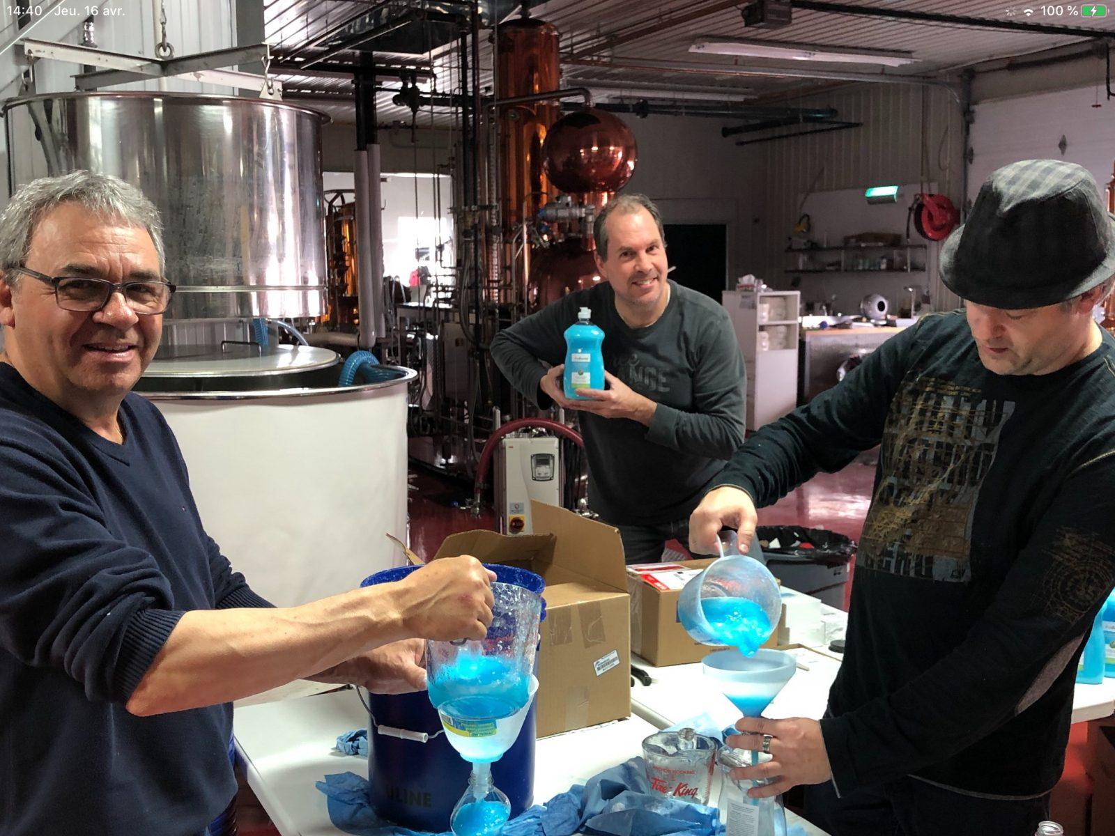 La Distillerie Beemer lance un gel désinfectant