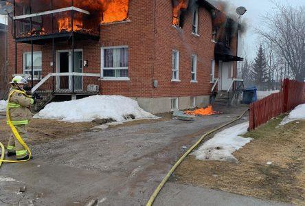 Enquête en cours pour l'incendie de Roberval