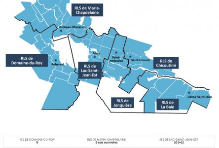 Deux nouveaux cas : Légère recrudescence au Lac-Saint-Jean
