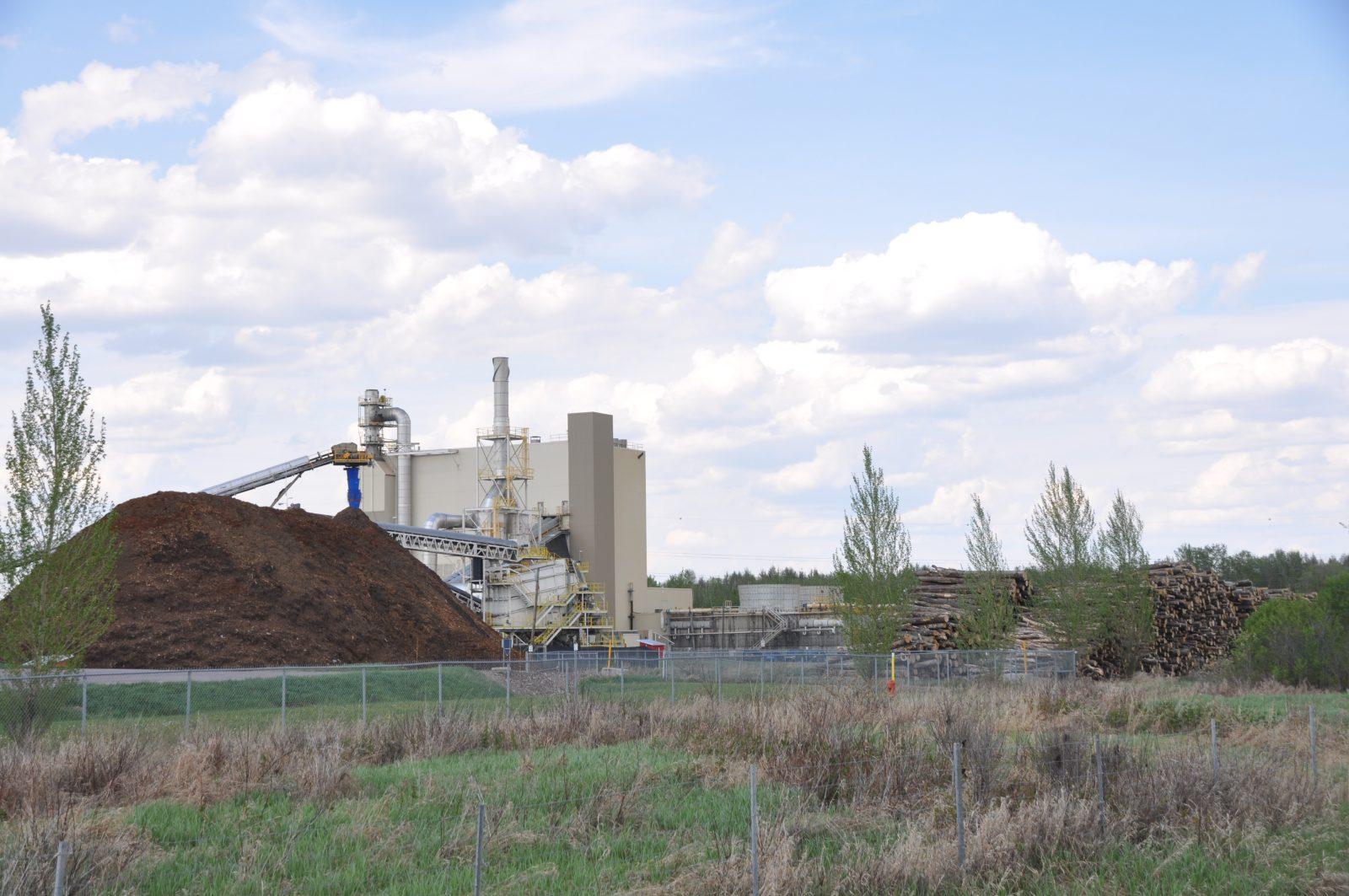Des défis d'approvisionnement d'écorces relevés pour l'usine de cogénération