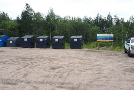 Chemin de la Branche-Ouest: Un nouveau site pour y déposer ses matières résiduelles