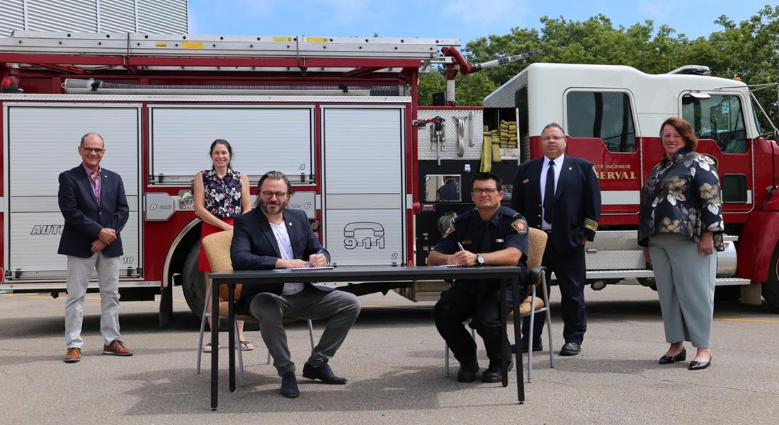 Service incendie de Roberval : de nouvelles conditions de travail pour les pompiers