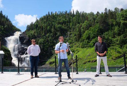 Visite de Yves-François Blanchette au Lac-Saint-Jean: «Si Trudeau est incapable de sortir de la crise, il faudra le remplacer»