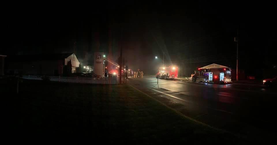 Incendie à St-Félicien