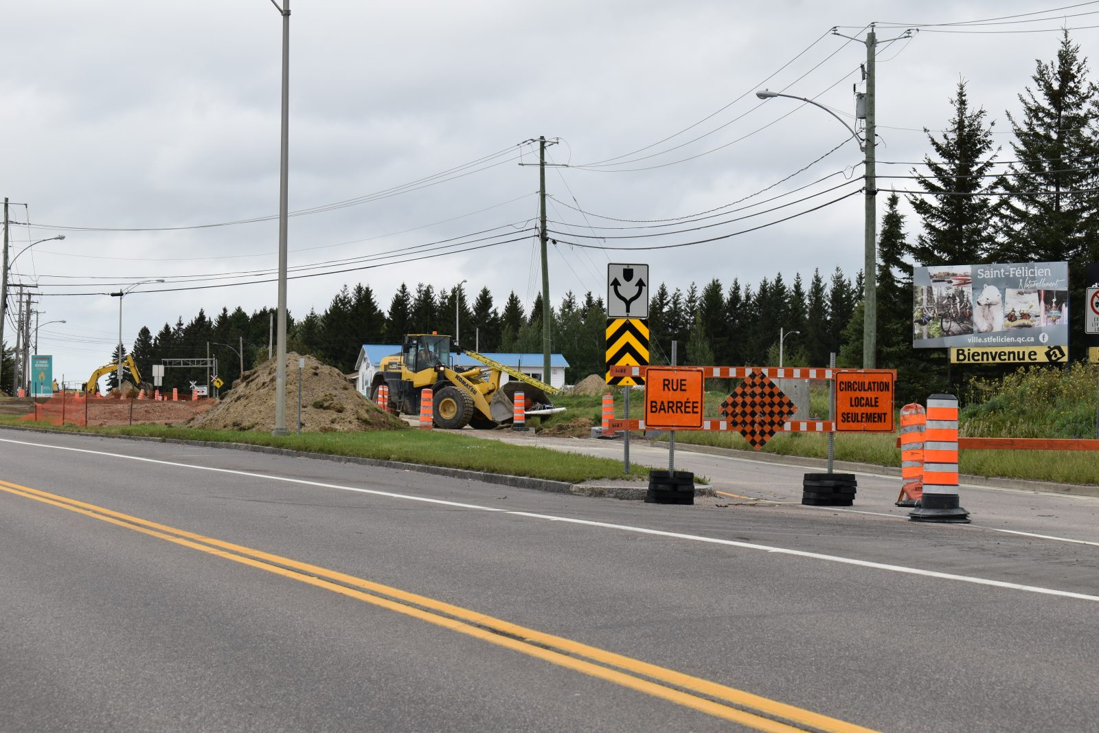 Le ministère priorise un carrefour giratoire à l'entrée sud de Saint-Félicien