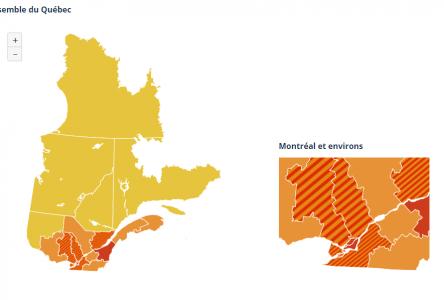 Le Saguenay-Lac-Saint-Jean vire au jaune