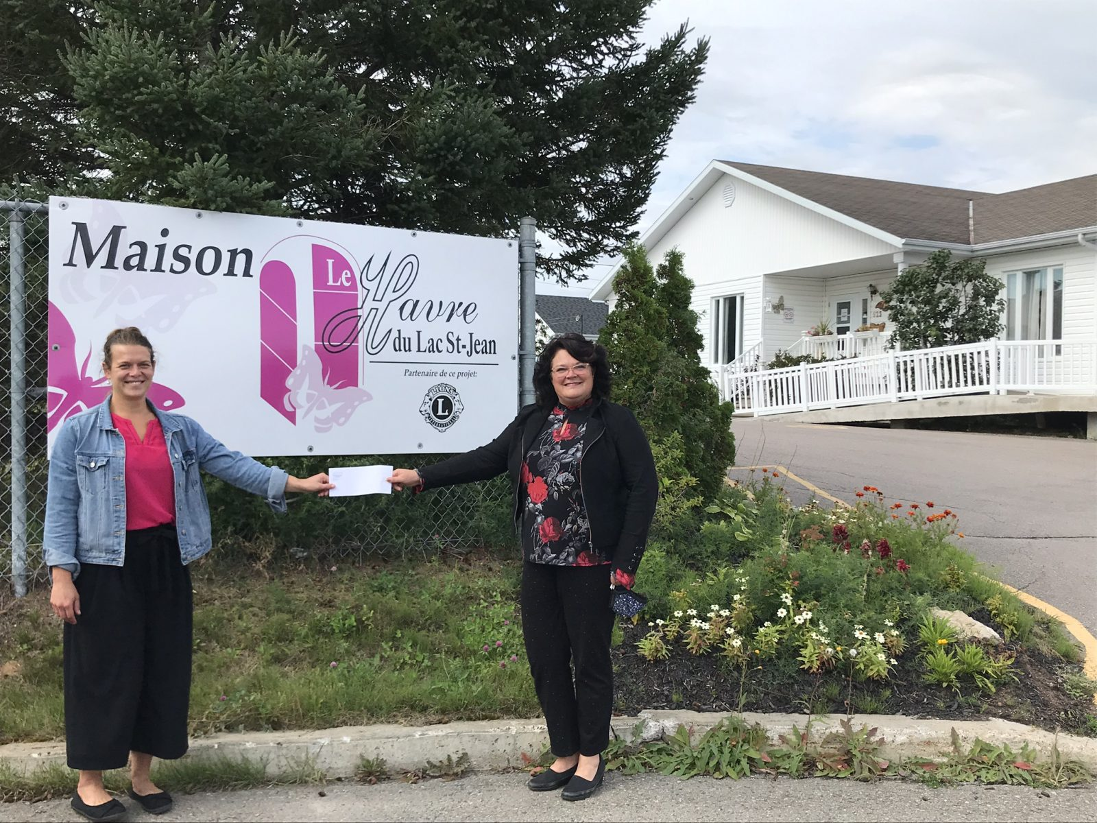 10 000 $ aux maisons de soins palliatifs dans le comté Roberval