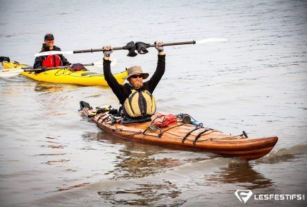 8 000 km en kayak pour un Félicinois: Sur les traces de la route des fourrures