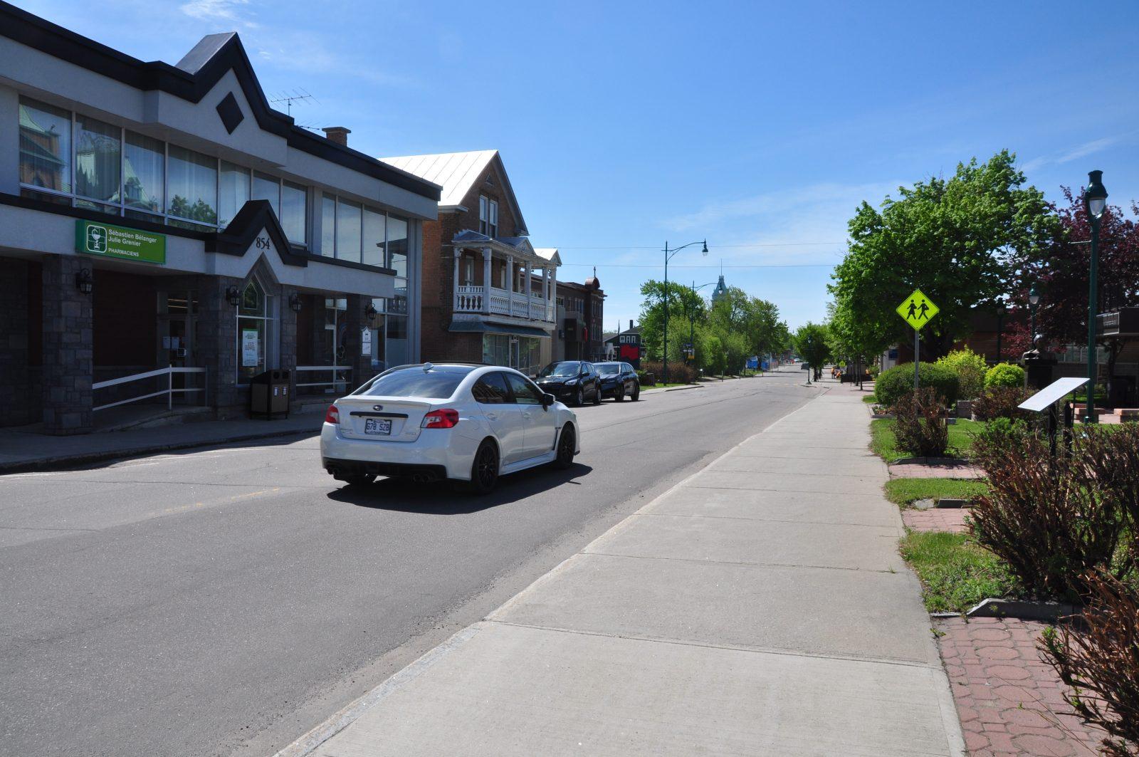 Programme de location au centre-ville de Roberval: Au tour des commerces sur Marcotte