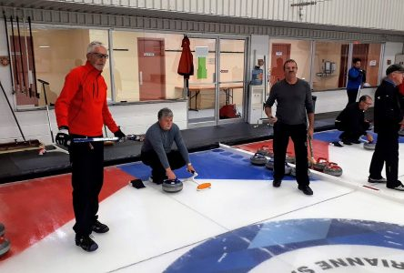 Trois semaines plus tard qu'à l'habitude: Saint-Félicien amorce sa nouvelle saison de curling