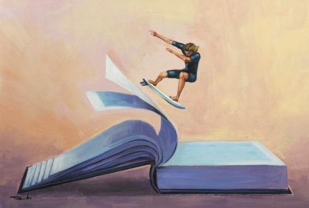 Le Cégep de Saint-Félicien, c'est… devenir meilleur grâce aux cours de littérature