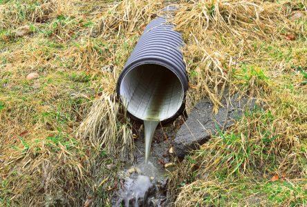 Eaux usées : 12 municipalités continuent les déversements en nature