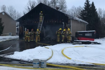 Incendie à Saint-Félicien