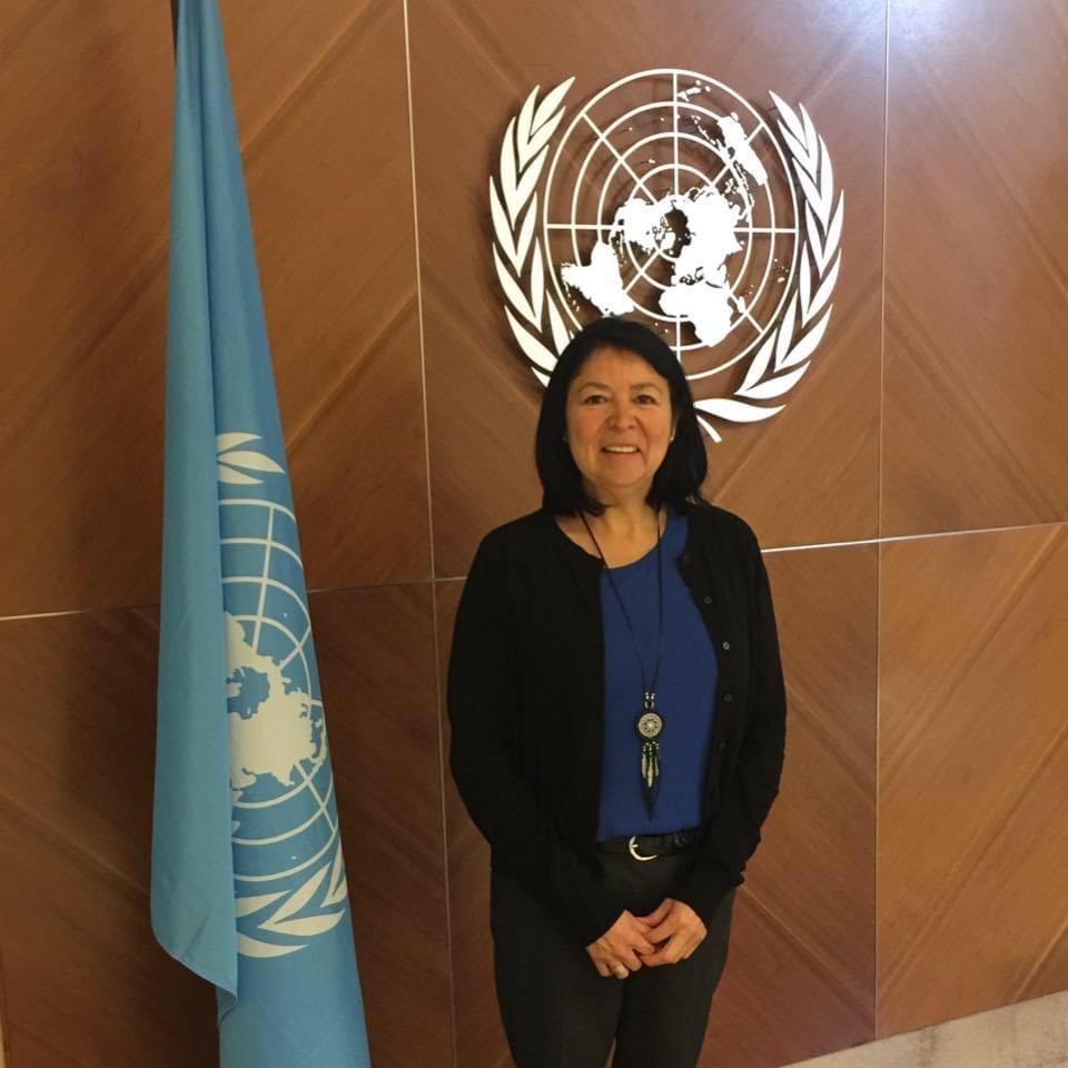 Marjolaine Étienne de Mashteuiatsh nommée à l'ONU
