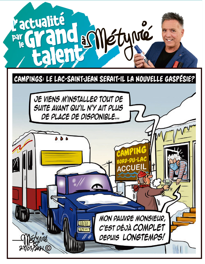 L'actualité par le Grand talent à Métyvié du 24 mars 2021