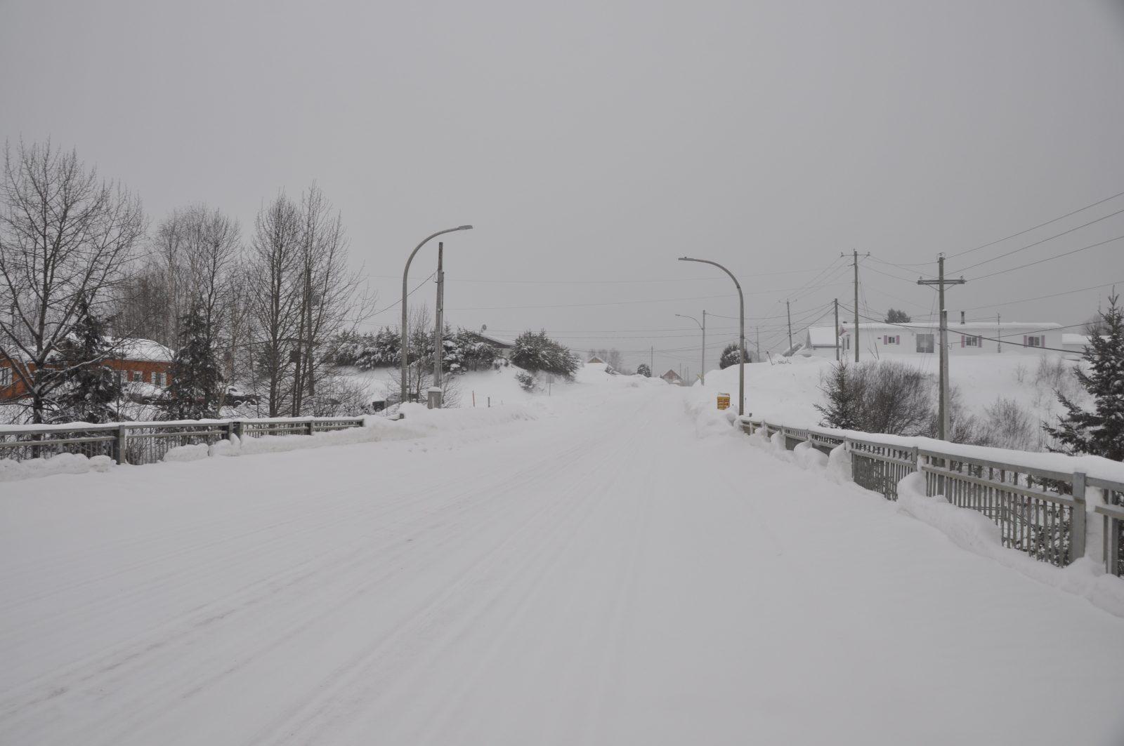 Travaux routiers 2021-2022: Plutôt tranquille dans Domaine-du-Roy