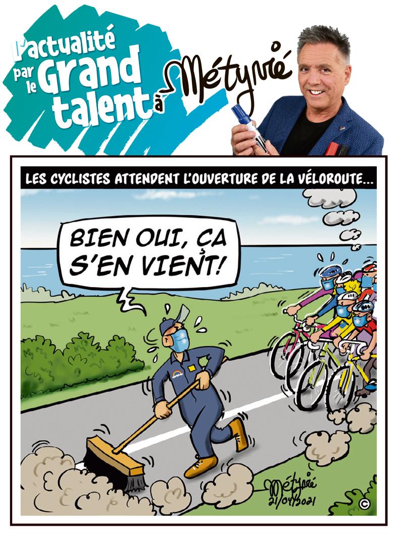 L'actualité par le Grand talent à Métyvié du 21 avril 2021