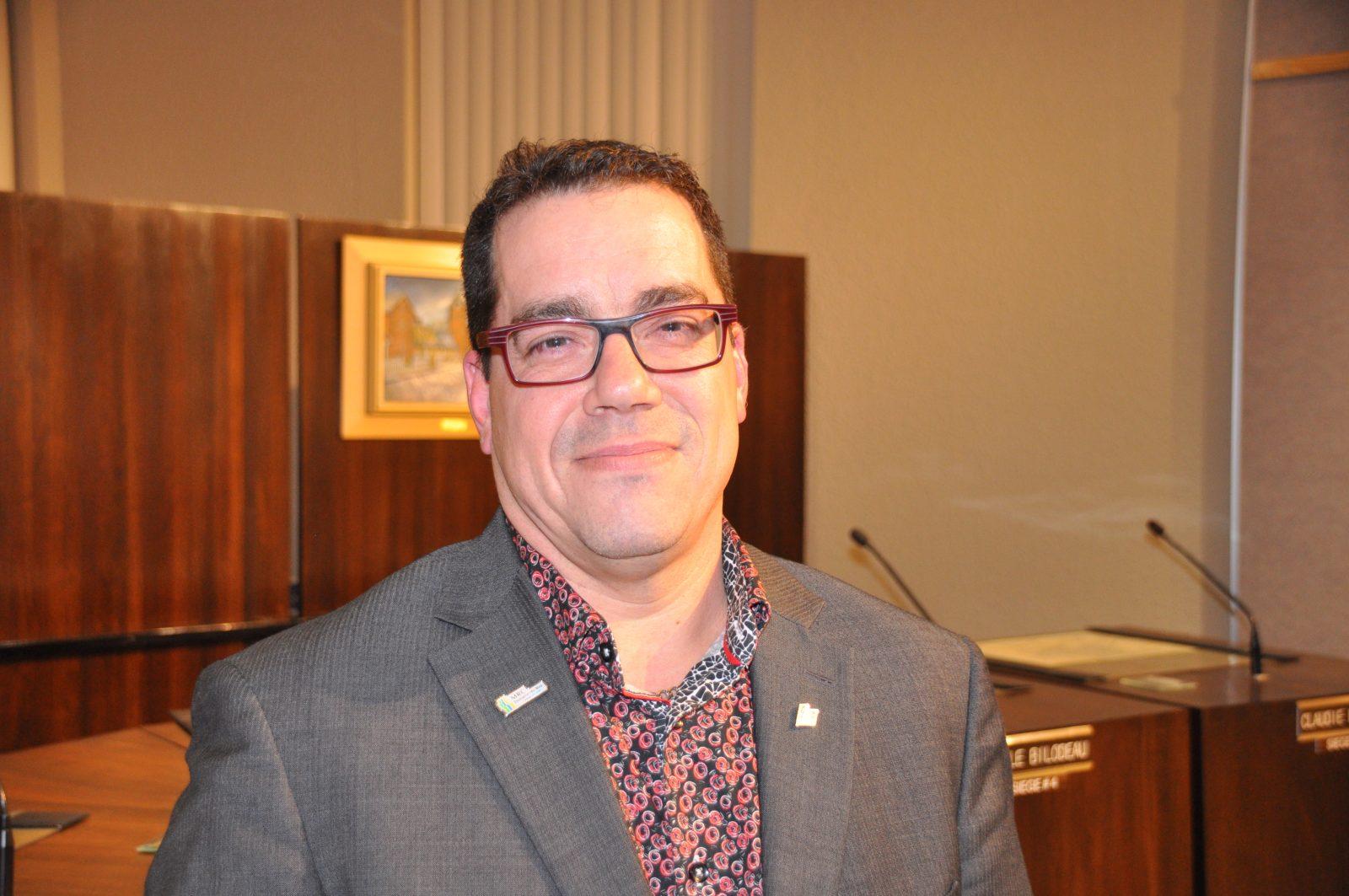 Yanick Baillargeon candidat à la préfecture de Domaine-du-Roy