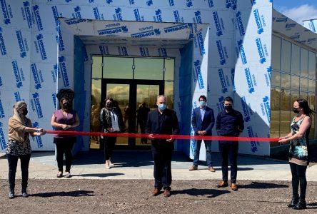 Inauguration de la Maison du Bleuet de Saint-Félicien