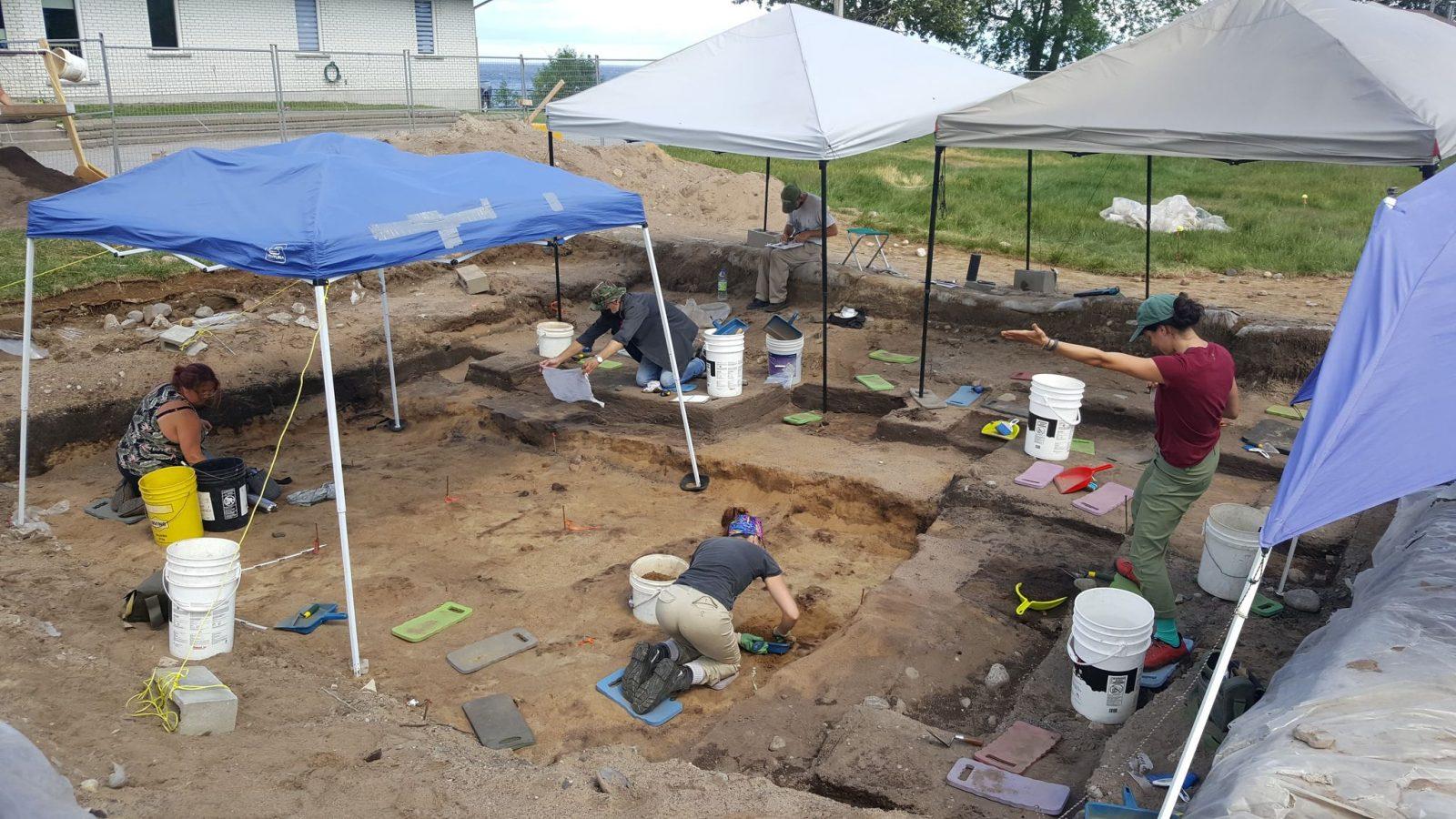 Des vestiges vieux de 3 500 ans