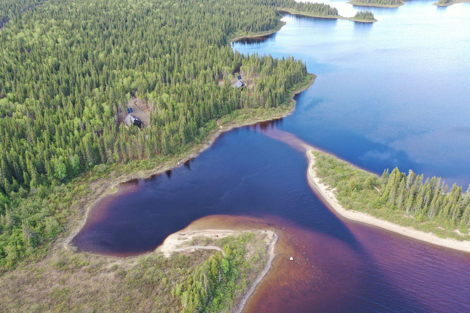 Un aménagement de 2,6 M$ au lac Nicabau dans la réserve faunique Ashuapmushuan