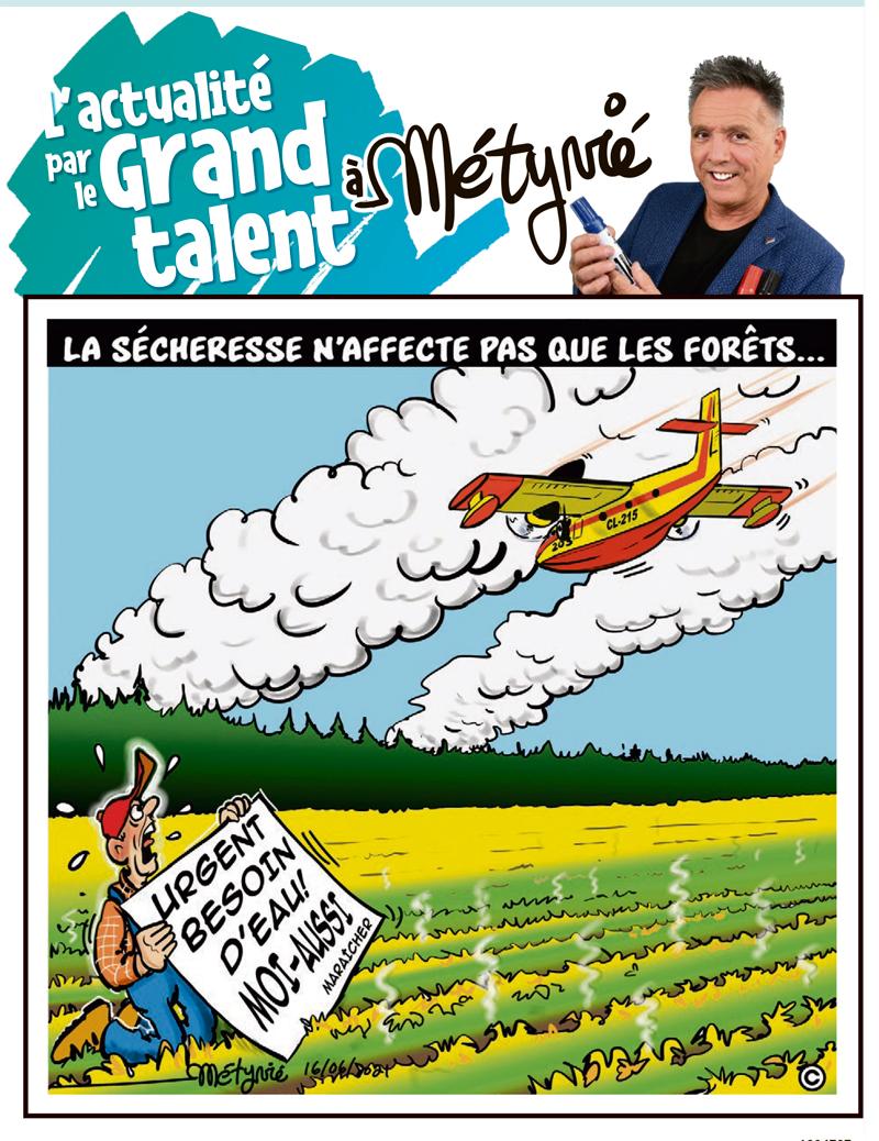 L'actualité par le Grand talent à Métyvié du 16 juin 2021