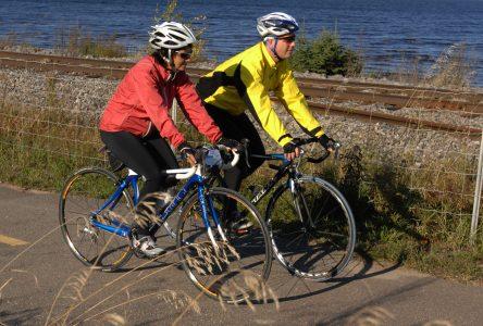 Pistes cyclables à Chambord: des négociations ardues avec le CN