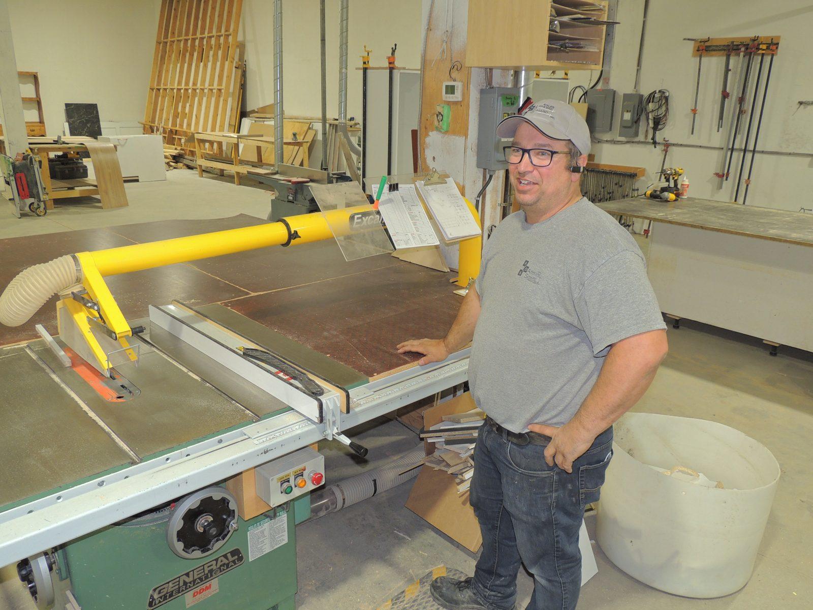Atelier d'armoire Simard investit plus de 400 000 $