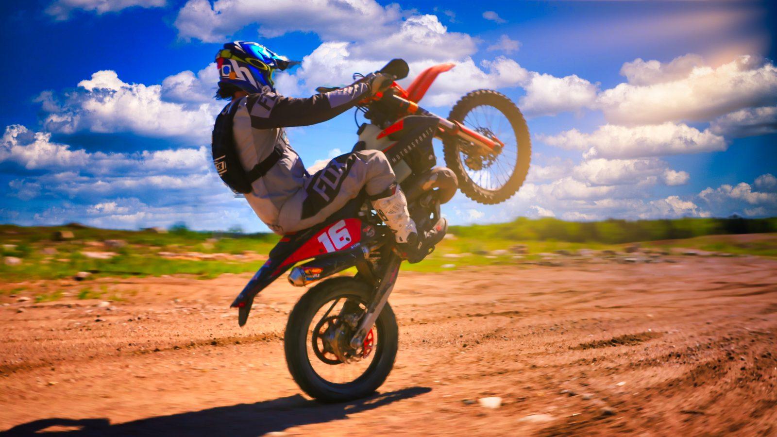 Un terrain de jeu unique pour les mordus de la moto hors route