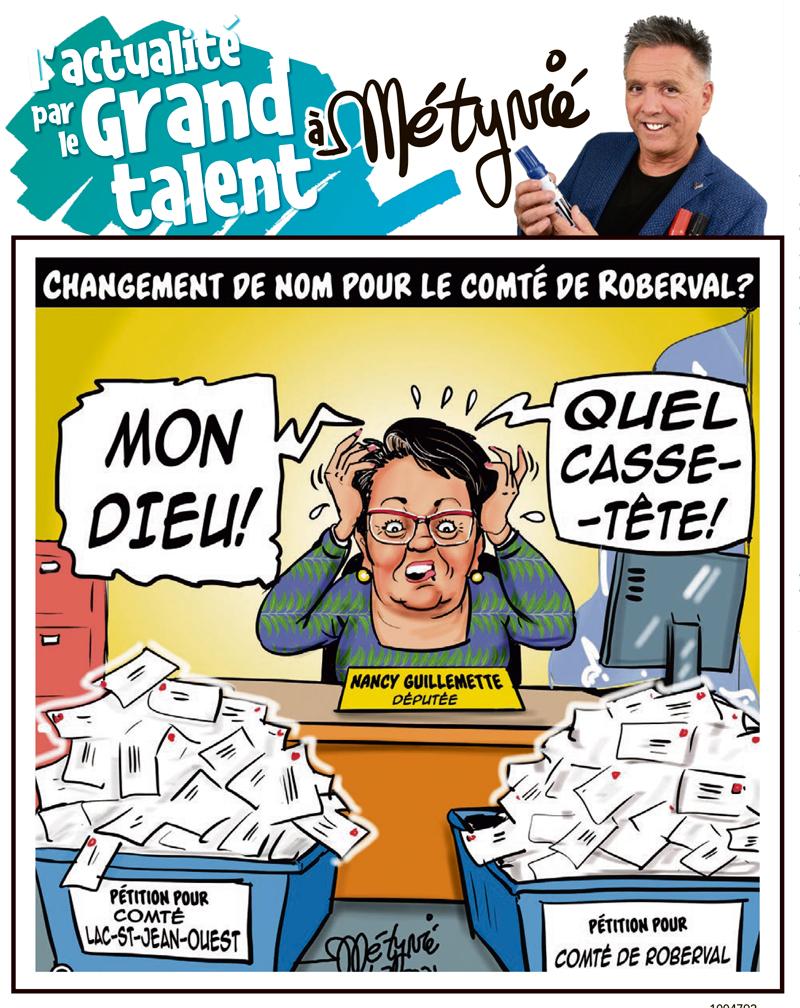 L'actualité par le Grand talent à Métyvié du 21 juillet 2021